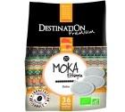 Café dosettes souples Bio Moka d'Ethiopie x 36