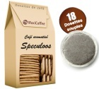Caf� dosettes souples aromatis� Speculoos x 18