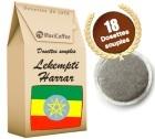 Moka Lekempti et Moka Harrar X18 Dosettes Souples