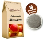 Caf� dosettes souples aromatis� Mirabelle x 18