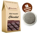 Caf� dosettes souples aromatis� chocolat x 18