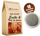 Café dosettes souples aromatisé érable et noix de pécan x 18