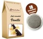 Café dosettes souples aromatisé vanille x 18