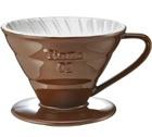 Dripper Tiamo V02 conique marron 4 tasses