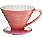 Dripper Tiamo V02 conique rose 4 tasses