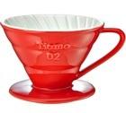 Dripper Tiamo V02 conique rouge 4 tasses