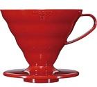 Dripper Hario V60 VDC-02 conique rouge 4 tasses