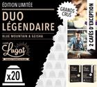 Duo capsules Blue Mountain & Geisha Cafés Lugat x20 pour Nespresso
