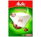 Option Melitta :  Filtres Original Melitta taille 1x4  x 80 + d�tartrant