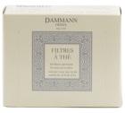 64 Filtres à thé Dammann en papier