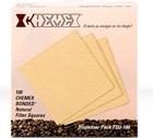 CHEMEX - Boîte de 100 filtres naturels pour cafetière 6 à 8 tasses
