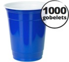 Maxilot gobelet américains bleu - 50 cl x 1000 (blue cups officiel)