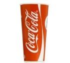 100 Gobelets Coca-Cola carton - 50cl