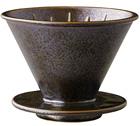 Dripper Kinto SCS-S01 conique noire 4 tasses