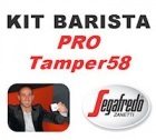 Kit Barista Pro TAMPER58 By Segafredo
