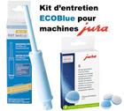 Kit Entretien ECO pour Jura  (cartouche filtrante et pastilles détergentes) - Compatible Claris Blue