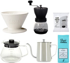 Pack Slow Coffee Kinto Dripper conique 4 tasses