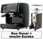 Lot Oscar noire Nuova Simonelli + Moulin � caf� Eureka