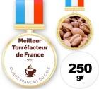 Café du champion de France Torréfacteur 2011 - 250 gr - Sylvain Caron