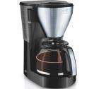 Cafetière filtre Melitta Easy Top 1010-04 noir/acier brossé + offre cadeaux