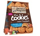 Mini cookies coeur fondant au lait et à la noisette - Michel et Augustin