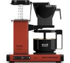 Cafetière filtre Moccamaster KBG741 rouge brique 1.25L + offre cadeaux