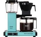 Cafetière filtre Moccamaster KBG741 Bleu Lagon 1.25L + offre cadeaux