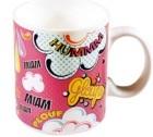 Mug classique en porcelaine