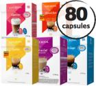Pack découverte - 80 capsules Dolce Gusto® compatibles Café Royal