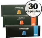 Pack d�couverte Caff� Mauro - 30 capsules pour Nespresso
