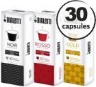 Pack découverte Capsules pour Nespresso - x30 - Bialetti