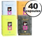 Pack d�couverte Goppion - 40 capsules compatibles Nespresso
