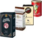 Pack Italien Arabica/Robusta (Exclusivité MaxiCoffee) : 4 cafés moulu x 250g