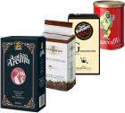 Pack Italien Arabica/Robusta (Exclusivité MaxiCoffee) : 4 cafés moulu x 250g