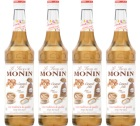 Sirop Monin - Caramel Sal� - 4x70cl