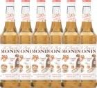 6 x Sirop Monin - Caramel Salé - 70cl