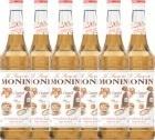 6 x Sirop Monin - Caramel Sal� - 70cl