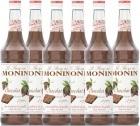6 x Sirop Monin - Chocolat - 70cl