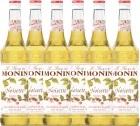 6 x Sirop Monin - noisette - 70cl