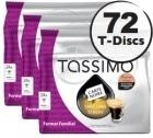 Dosette Tassimo Carte Noire Café Long Classic - 24 T-Discs - Lot de 3 (soit 72 T-Discs)