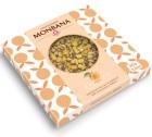 Tablette gourmande - Abricot Chocolat au Lait - 80 gr - Monbana