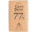 Tablette chocolat extra noir (77% de cacao) - 100g - Café Tasse