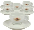 6 tasses et sous tasses Espresso Classic Line - Miscela d'Oro
