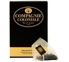 Th� noir Caramel et Fleurs Compagnie Coloniale x 25 Berlingo�