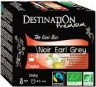 Thé noir bio Earl Grey Destination x20 sachets