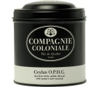 Boite Compagnie Coloniale Th� noir Ceylan OPHG - 100 gr