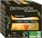 Th� vert bio Earl Grey Destination x20 sachets
