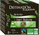 Thé vert bio nature Destination x20 sachets