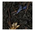 Thé noir à la bergamote Earl Grey Fleurs Bleues - 100 gr - G. Cannon