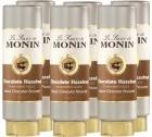 6 x Coulis Chocolat Noisette 500 ml - Monin